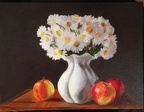 stilllife vase apples